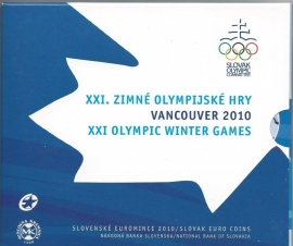 "Slowakije BU set 2010 ""Olympische spelen"""