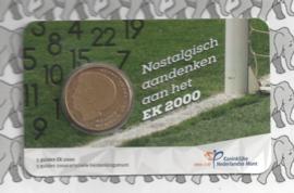 """Nederland 2021 """"EK vijfje 2000"""", in coincard"""