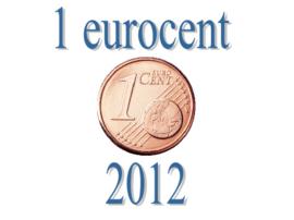 Slovenië 1 eurocent 2012