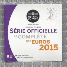 Frankrijk BU set 2015