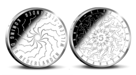 "Nederland 5 euromunt 2018 (38e) ""Fanny Blankers-Koen vijfje"" (los)"