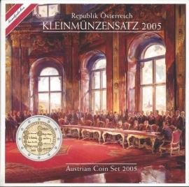 Oostenrijk BU set 2005