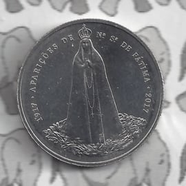 "Portugal 2,5 euromunt 2017 ""100 jaar Fatima"" (41)"