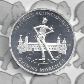 """Duitsland 20 euromunt 2019 (18e) """"Het dappere snijdertje"""", zilver"""