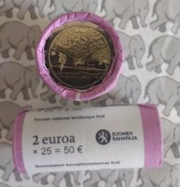 "Finland 2 euromunten rol CC 2018 ""Het Finse Landschap Koli"""