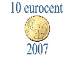 Luxemburg 10 eurocent 2007