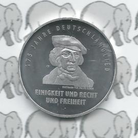 "Germany 20 eurocoin 2016 (80) ""175 jaar Duitslandlied"" (Silver)"