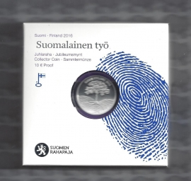 "Finland 10 euromunt 2016 ""de Finse Arbeid"""