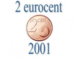 Finland 2 eurocent 2001
