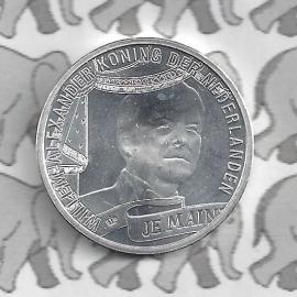 """Nederland 10 euromunt 2013 (24e) """"Koningstientje"""" (los)"""