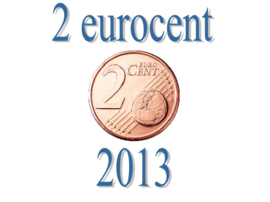 Portugal 2 eurocent 2013