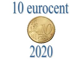 Slowakije 10 eurocent 2020