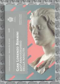 "San Marino 2 euromunt CC 2018 (20e)""420ste geboorte dag van Gian Lorenzo Bernini"" (in blister)"