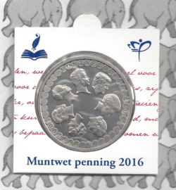 """Nederland munthouder 2016 """"200 jaar muntwet"""""""