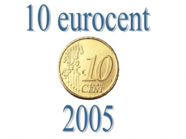 Luxemburg 10 eurocent 2005