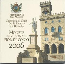 """San Marino BU set 2006 """""""""""