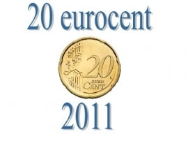 Luxemburg 20 eurocent 2011