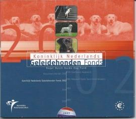 """Nederland BU set 2002 """"Geleidehondenfonds """""""