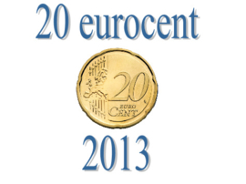 Luxemburg 20 eurocent 2013