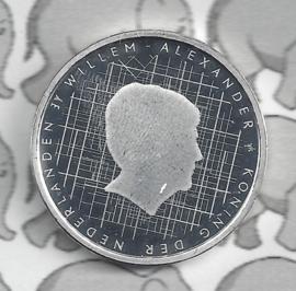 """Nederland 5 euromunt 2018 (39e) """"Schokland vijfje"""" (los)"""