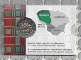 """Litouwen 2 euromunt CC 2019 (8e) """"Samogitia"""" in coincard"""