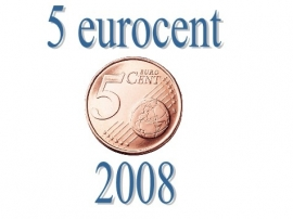 Luxemburg 5 eurocent 2008