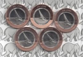 """Duitsland serie 10 euromunten 2020 """"op het land"""" (witte ring, letters A, D, F, G en J)"""