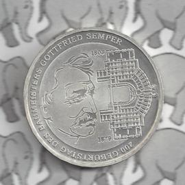 "Duitsland 10 euromunt 2003 (10e) ""200e Verjaardag Baumeisters Gottfries"" (nikkel)."