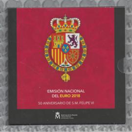 Spanje BU set 2018