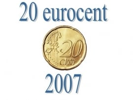 Luxemburg 20 eurocent 2007