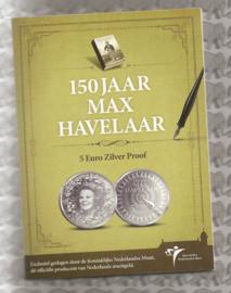 "Nederland 5 euromunt 2010 ""Max Havelaar vijfje"" (zilver, proof in blister)"