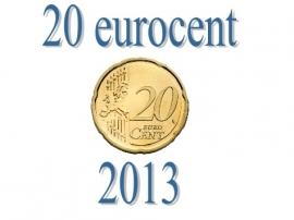 Nederland 20 eurocent 2013