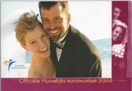 """Nederland BU set 2003 """"Huwelijksset """""""