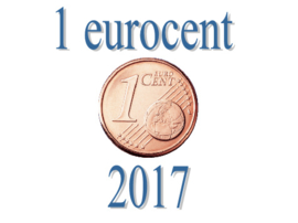 Portugal 1 eurocent 2017