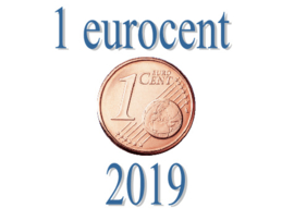 Portugal 1 eurocent 2019