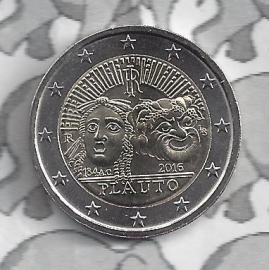 """Italië 2 euromunt CC 2016 """"Plauto"""""""