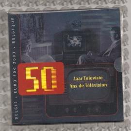 "Belgié BU set 2003 ""50 Jaar Televisie"""