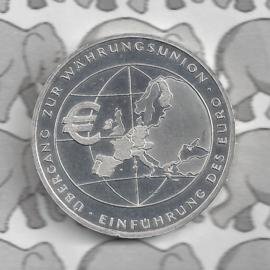 "Duitsland 10 euromunt 2002 (1e) ""Invoering van de Euro "" (nikkel)"