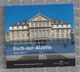 "Luxemburg BU set 2017 ""Esch-sur-Alzette"""