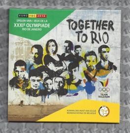 """België BU set 2016 """"Team Belgium, Rio de Janeiro"""""""