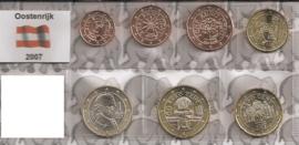 Oostenrijk UNC serie 2007 (7 munten)