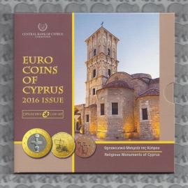 Cyprus BU set 2016