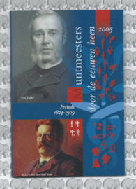 """Nederland BU set 2005 """"Muntmeesters door de eeuwen """" (Coinfair)"""