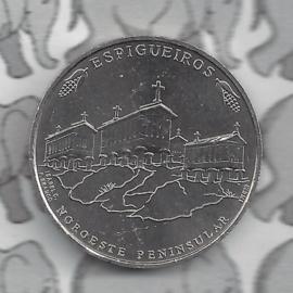"""Portugal 2,5 euromunt 2018 """"Graanschuurwoningen uit het noordwesten van Portugal"""" (44)"""