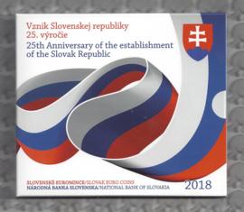 """Slowakije BU set 2018 """"25 jaar republiek Slowakije"""""""