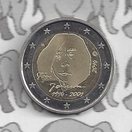 """Finland 2 euromunt CC 2014 """"100e verjaardag van de geboorte van auteur en kunstenares Tove Jansson"""""""