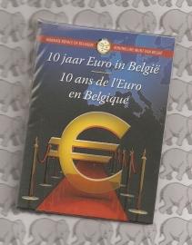 """België 2 euromunt CC 2012 """"10 jaar euro"""" in blister"""