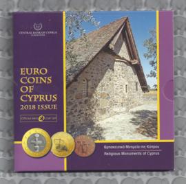Cyprus BU set 2018