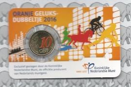 "Nederland 10 eurocent 2016 ""Geluksdubbeltje"""