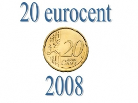 Luxemburg 20 eurocent 2008